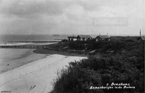 Strand van Breskens in de jaren 30