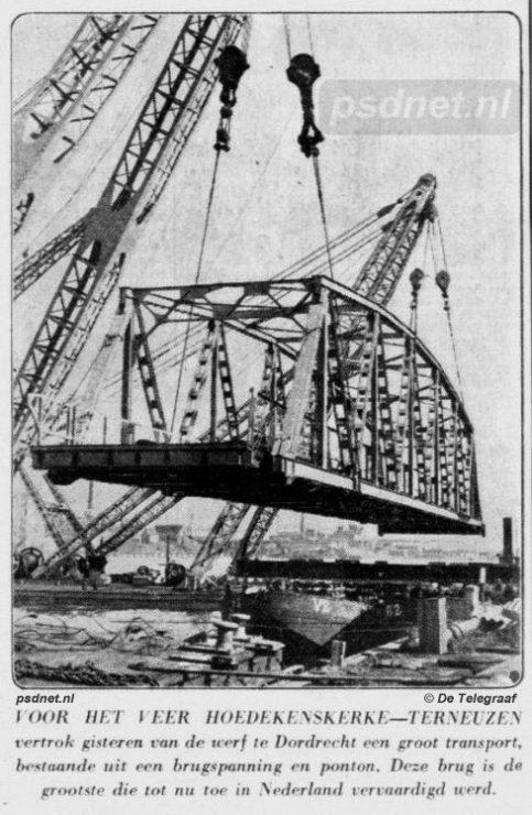 Nieuwe brug voor Hoedekenskerke