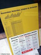 Met de verkoop van de Zeeuwse veerboten naar Italië gingen er ook een hoop souvenirs mee. Zoals bijvoorbeeld dit NS-bord met de vertrektijden vanaf station Vlissingen.