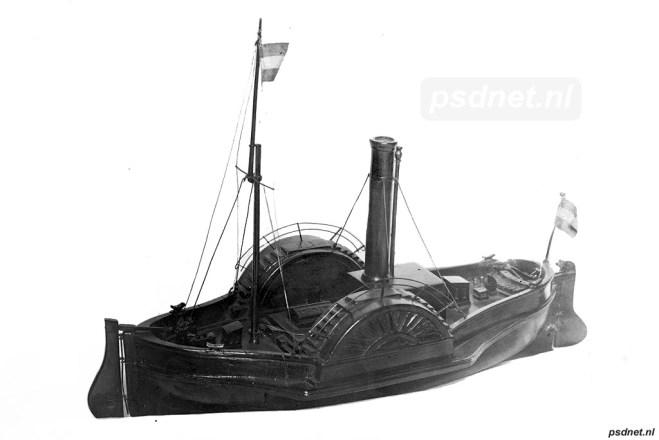 Scheepsmodel De Schelde (1828)