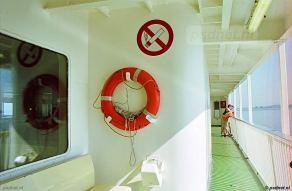 In tegenstelling tot de eerste twee dubbeldeksschepen van de PSD waren de promenadedekken van de Juliana wat smaller. Ook zaten de 'rookkanalen' van de vier schoorstenen een beetje in de weg. Daarentegen was de salon wel breder.
