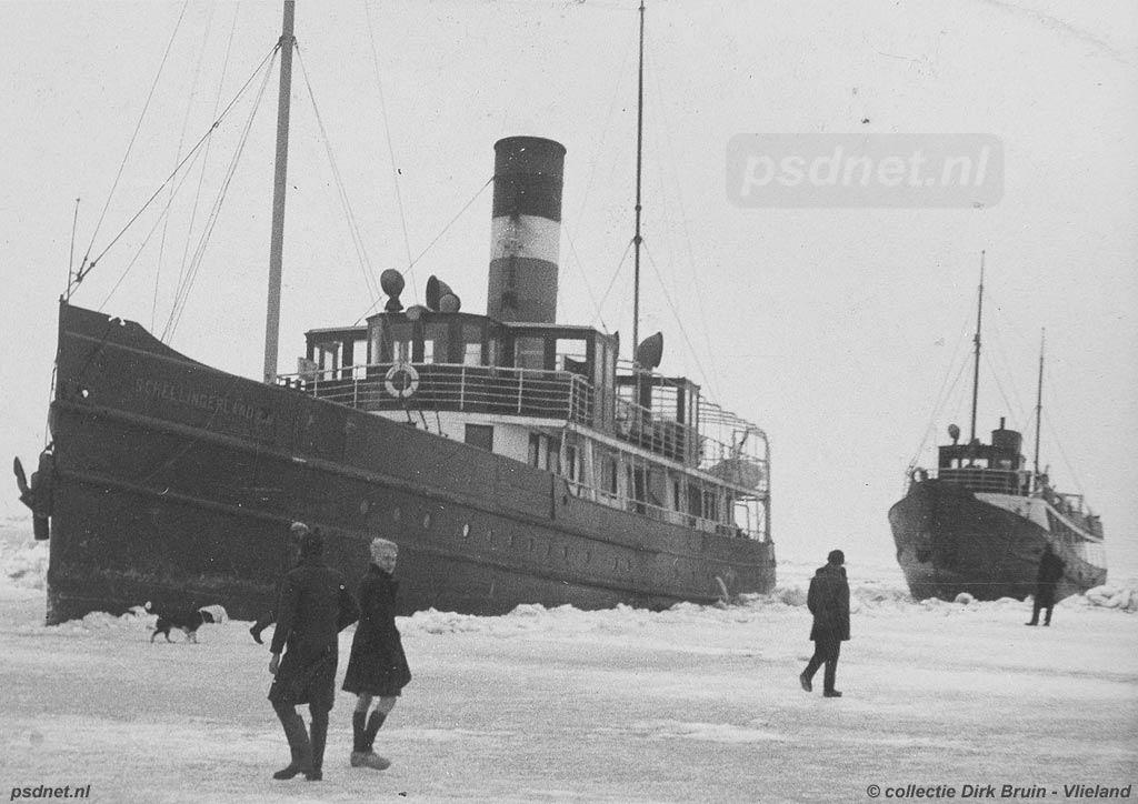 De Schellingerland van Doeksen in het ijs