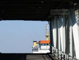 De veerboot Koningin Beatrix (1993) had op 15 maart 2003 de eer om de laatste afvaart onder PSD-vlag te verzorgen.