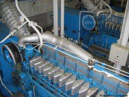 Naast de hoofdmotoren zijn er ook vier hulpmotoren van Volvo-Penta aanwezig, verbonden aan generatoren voor het opwekken van stroom voor diverse elektrische systemen op de veerboot.