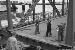 Invaren nieuwe Vlissingse brug