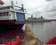 Na de laatste afvaart voor BBA Fast Ferries vertrok de Koningin Beatrix (KBX) naar Scheldepoort voor voorbereidingen op de naderende reis naar Italië.