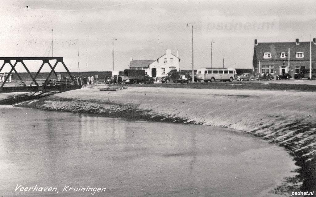 Kruiningen in 1950
