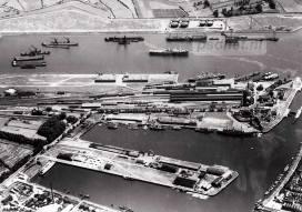 Luchtfoto Vlissingen in de jaren 30