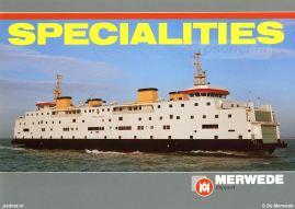 Op 5 december 1984 vond de kiellegging plaats. Op die dag plaatsen de gedeputeerde De Voogd en PSD-directeur Oostinga twee kielsecties aan elkaar, het officiële startschot voor de bouw. Exact een jaar later is het schip zo goed als klaar.