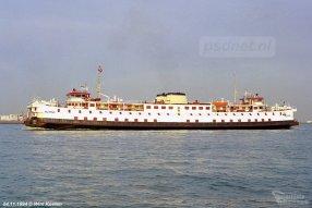 Proefvaart Mu Ping in Vlissingen