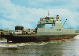 Na de verbouwing tot dieselveerboot