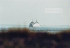 De Prins Johan Friso gezien vanaf de dijk.