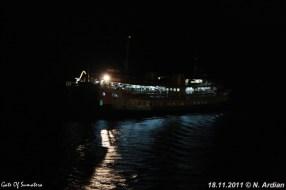 SMS Kartanegara - Een nachtelijk vertrek