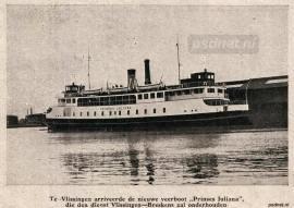Nieuwe veerboot in Vlissingen