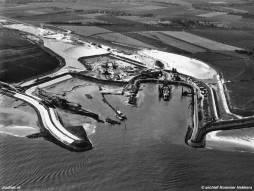 Luchtfoto Perkpolder in 1966