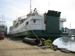 SMS Kartanegara - In 2005 op de werf