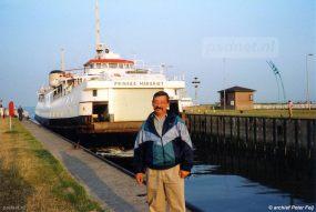 1995 was het laatste jaar waarin de PSD een beroep moest doen op een enkeldeksveerboot.