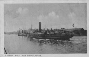 Stoomboot Westerschelde in Breskens