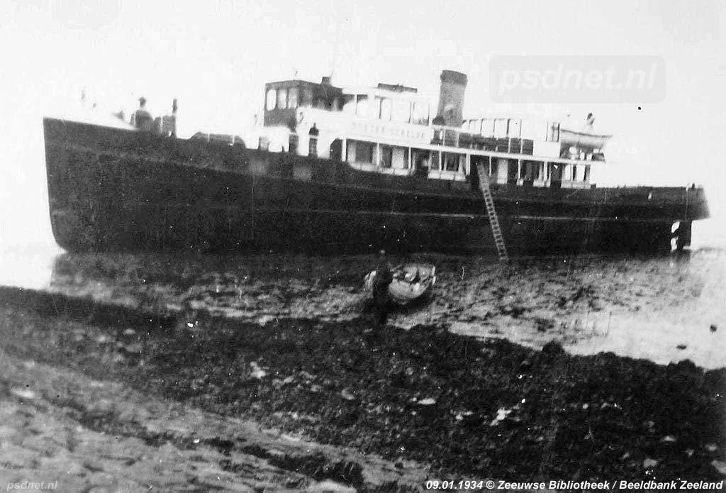 Stranding in 1934
