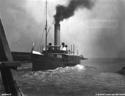 De raderstoomboot Westerschelde werd tijdens de laatste jaren van de PSD-dienst ingezet op de veerdienst Vlissingen-Terneuzen. Onderweg werd ook aangelegd aan de getijdensteiger van Borssele.