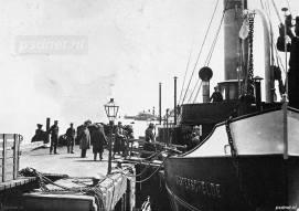 Westerschelde aan ponton in Vlissingen