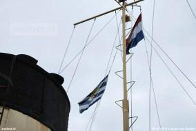Zeeuwse vlag wordt gehezen