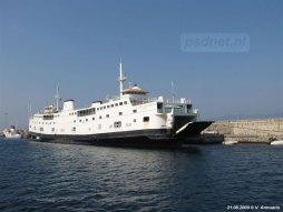De Ladies Matacena werd in 1968 gebouwd als Prinses Christina, de eerste Nederlandse dubbeldekker. Alleen de TESO heeft tegenwoordig dit type schip nog in de vaart in Nederland.