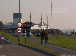 15 maart 2003: Drukte in Kruiningen