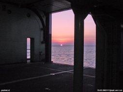 15 maart 2003: Laatste vertrek uit Perkpolder