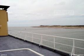 Richting Dishoek werd gekeerd en vervolgde de Prins Johan Friso haar weg terug de Westerschelde op.
