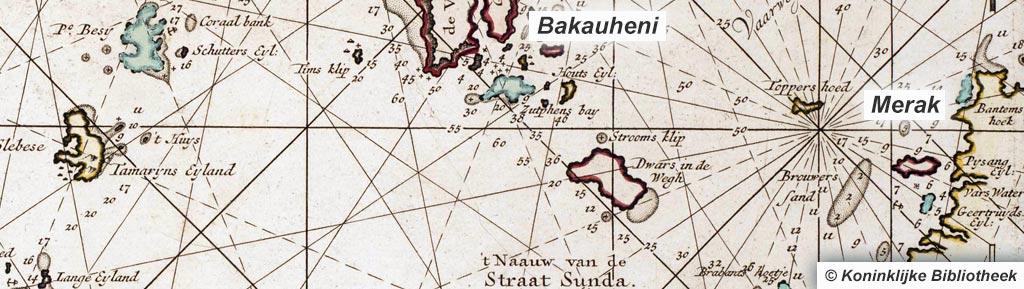 VOC-kaart Straat Soenda