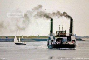 De Krammer heeft tot het laatst gevaren als stoomveerboot.