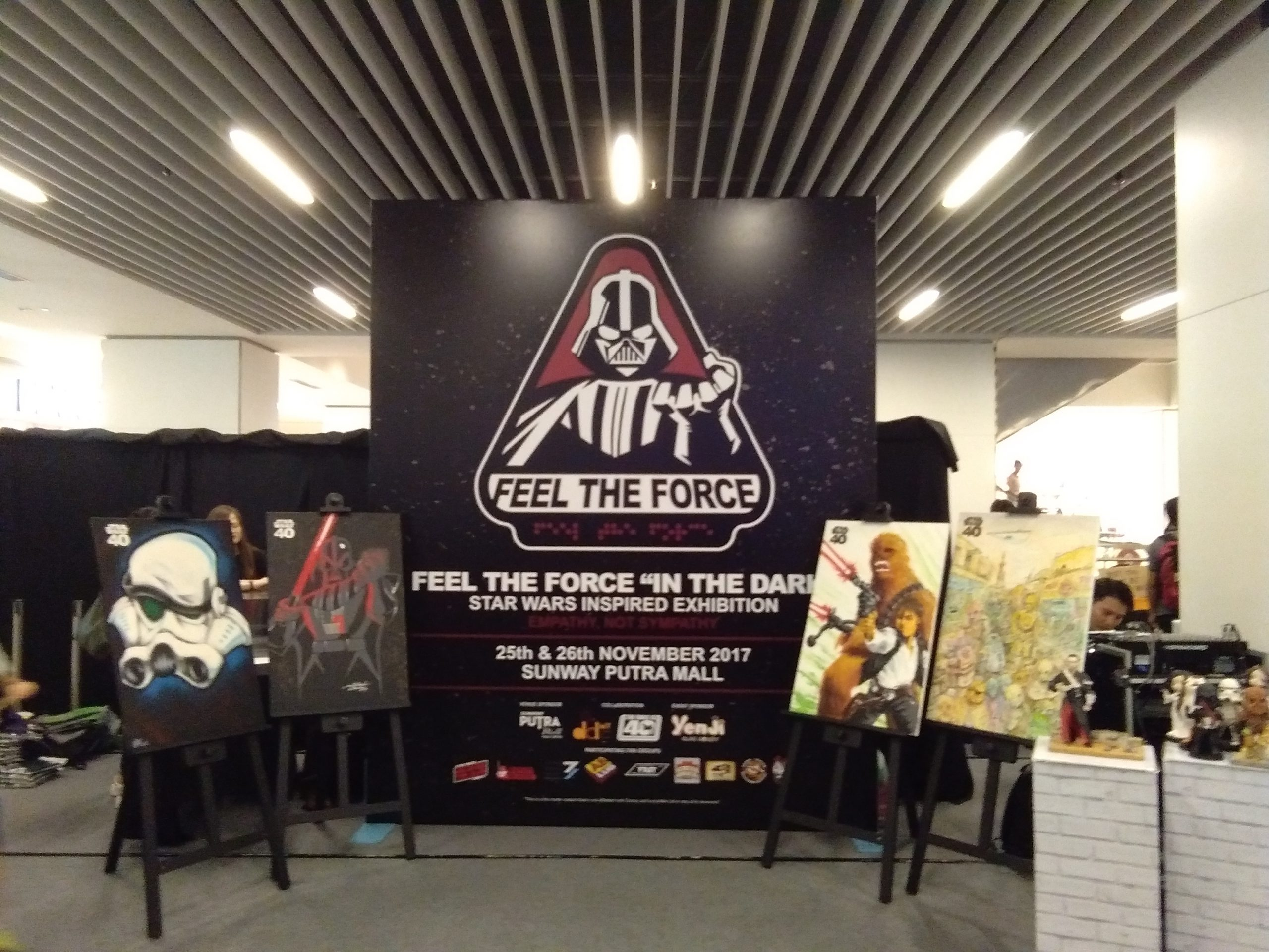 Star Wars Feel the Force – In The Dark Charity