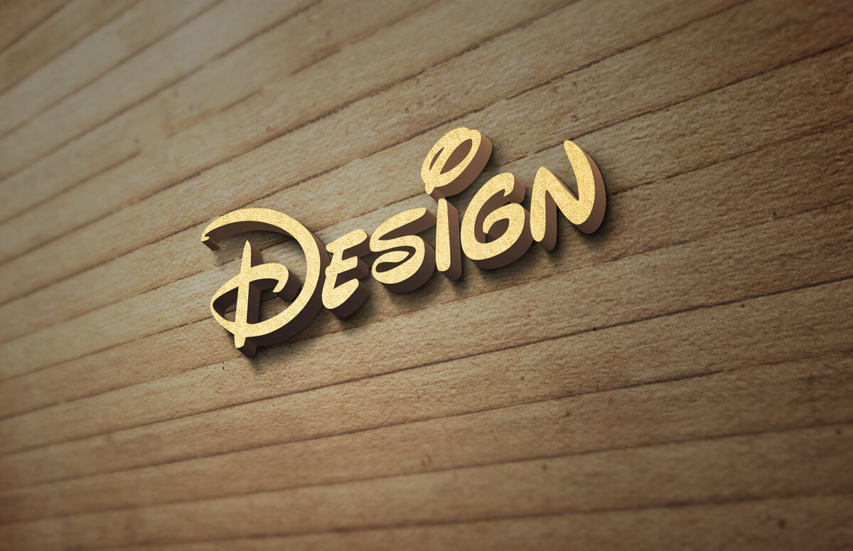 This is an exclusive realistic card 3d logo mockup design style psd files for you. 3d Wood Wall Logo Mockup