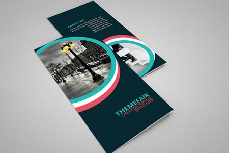 65  Print Ready Brochure Templates Free PSD InDesign   AI Download     Corporate Tri fold Brochure Template