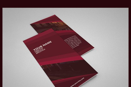 3 fold brochure template psd   Engne euforic co 3