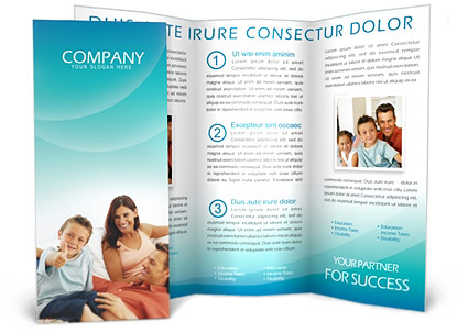 Family Brochure Template
