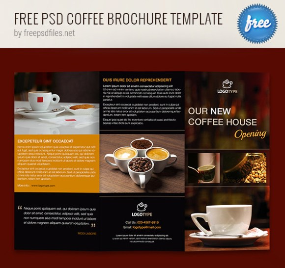 65 print ready brochure templates free psd indesign ai for Photoshop brochure template free