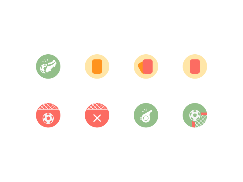 Free Soccer Icons AI Set