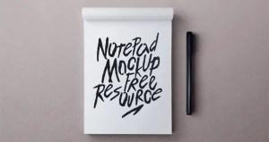 NotepadMockupPSD FreeDownload