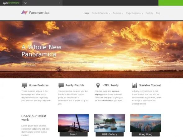 Panoramica WordPress Portfolio Theme