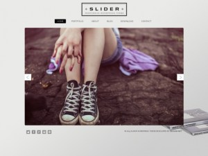 Slider WordPress Portfolio Theme