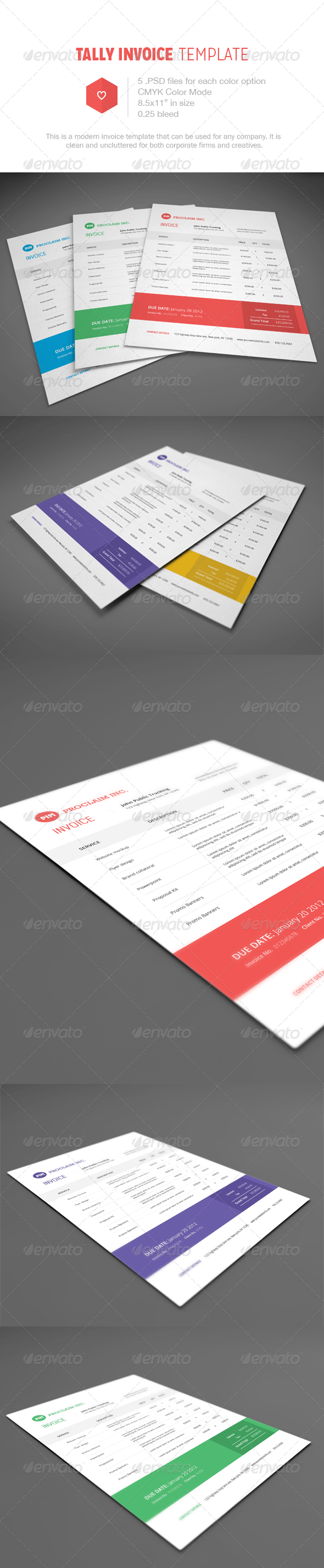 38  Invoice Templates PSD DOCX INDD   Free Download   PSDTemplatesBlog Tally Invoice Template