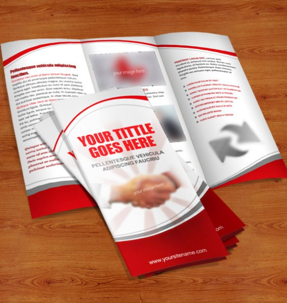 Print Ready Brochure Templates Free PSD InDesign AI Download - Brochure photoshop template