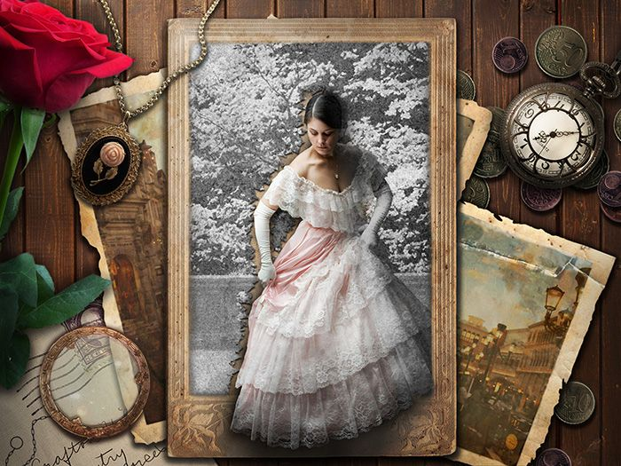 Create a Vintage and Romantic Scene of Old Memories in Photoshop
