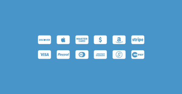 Credit Cards Icons PSD