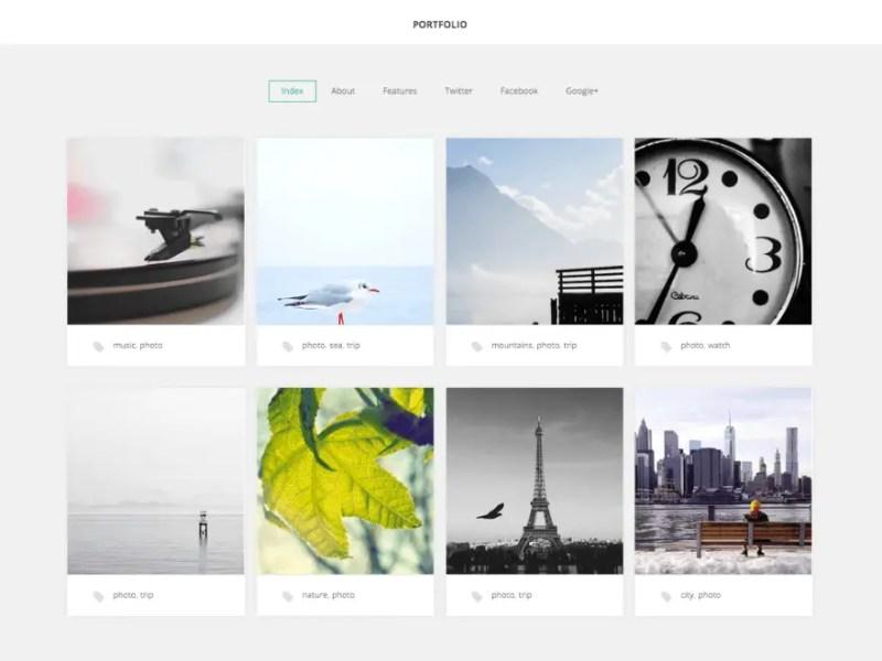 GK Portfolio WordPress Photography Theme