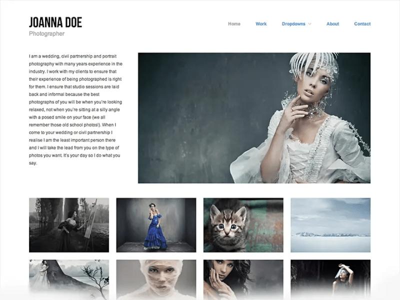 Hatch WordPress Photography Theme