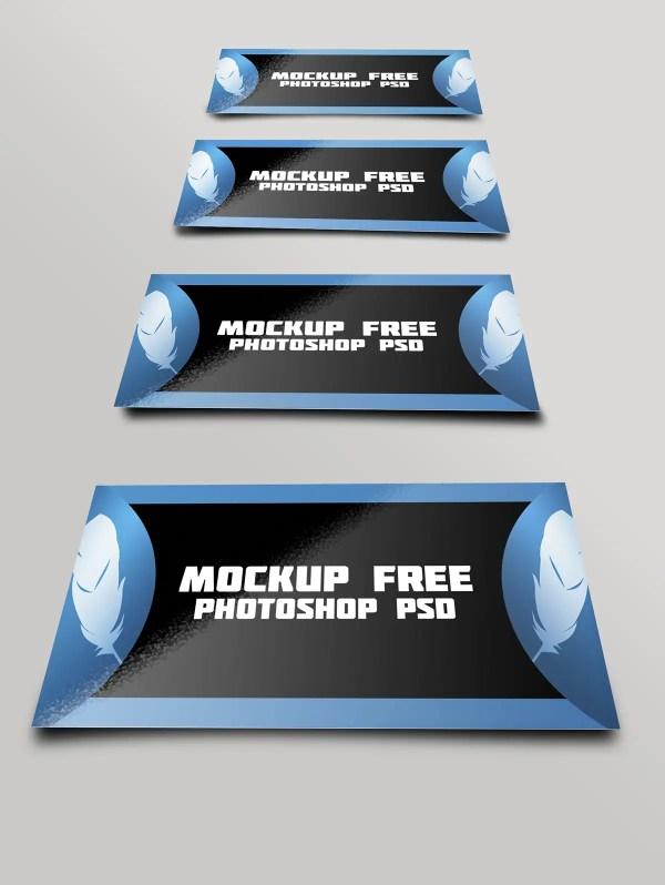 Mockup free business card