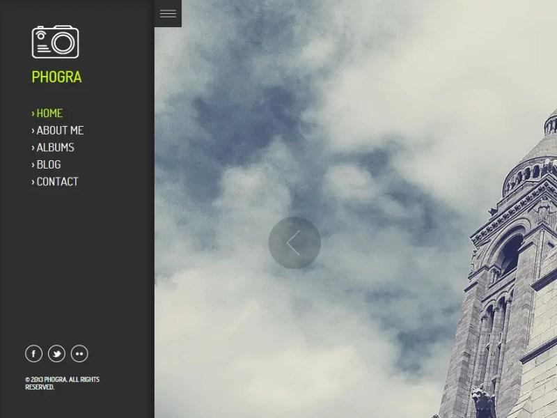 Phogra WordPress Photography Theme